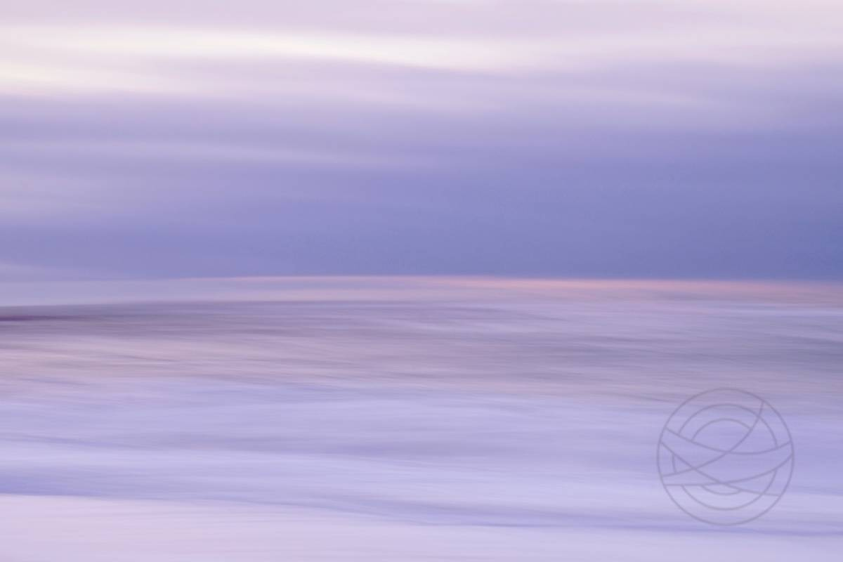 Evening Sky Lullaby - Abstract realistic fine art seascape photography by Jacob Berghoef