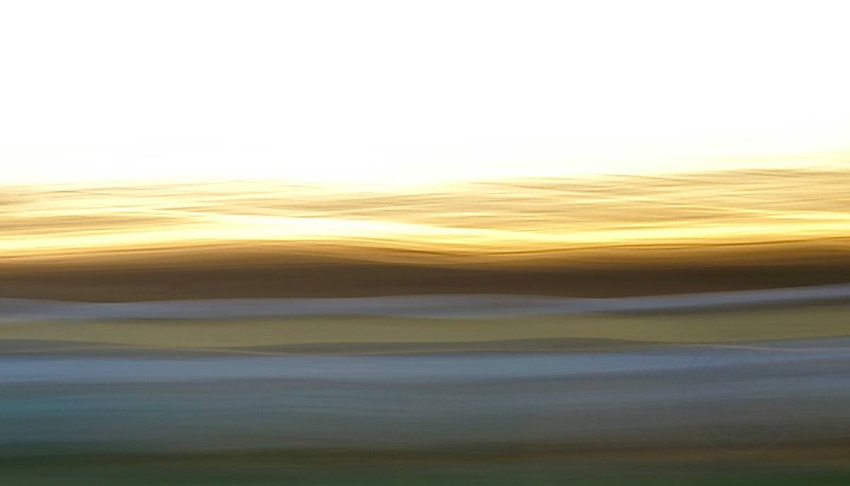 Fading Day - Abstract realistic fine art landscape photography by Jacob Berghoef