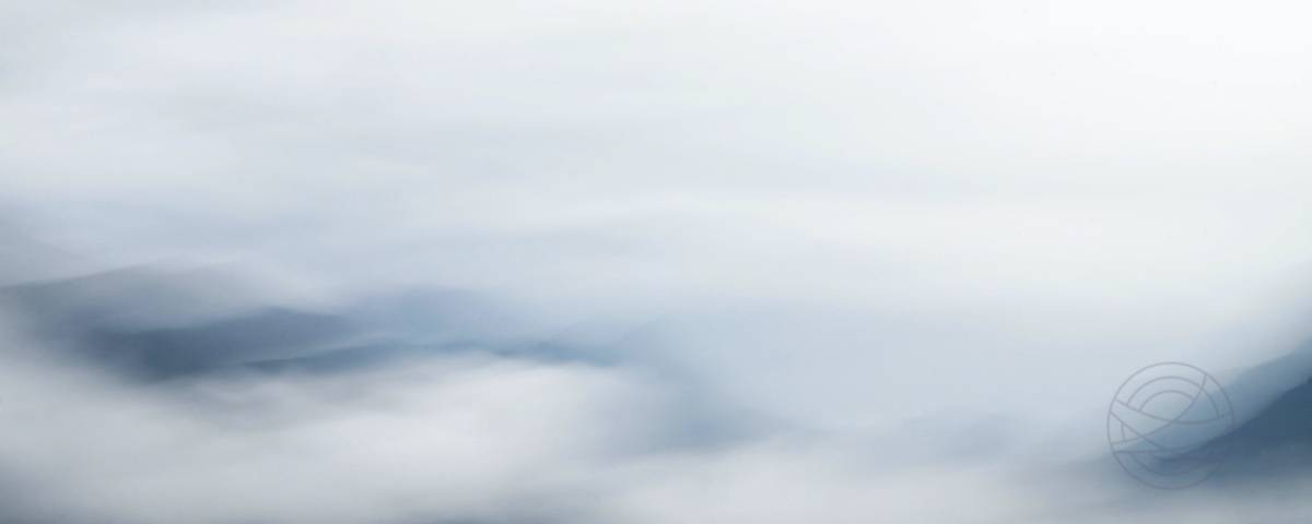 Silent Waves - Abstract realistic fine art mountain landscape photography by Jacob Berghoef