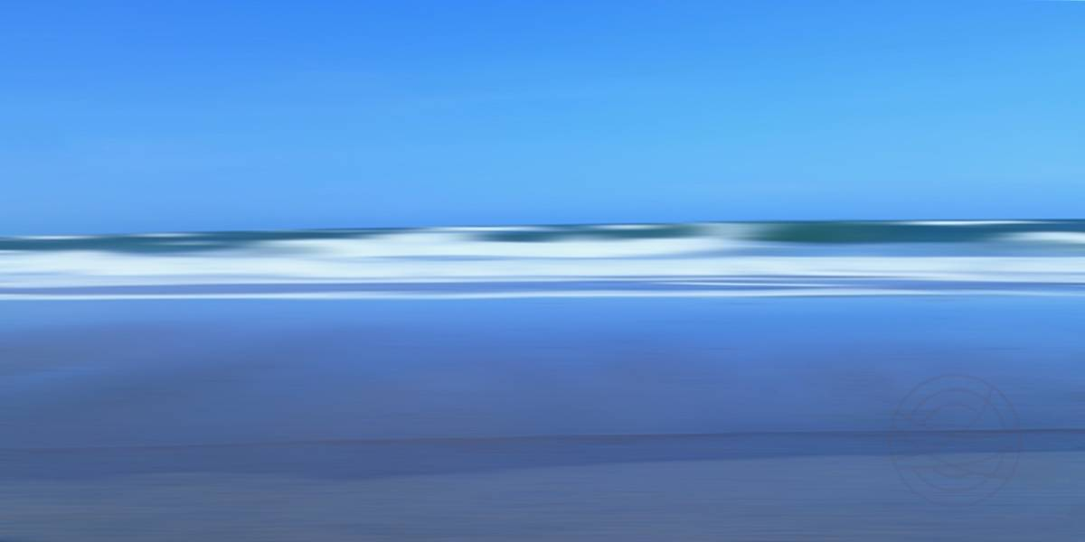 Touching The Sky (2) - Abstract realistic fine art seascape photography by Jacob Berghoef