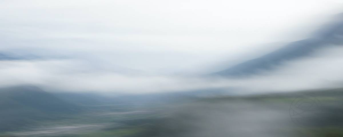 Valley Of Dreams - Abstract realistic fine art mountain landscape photography by Jacob Berghoef