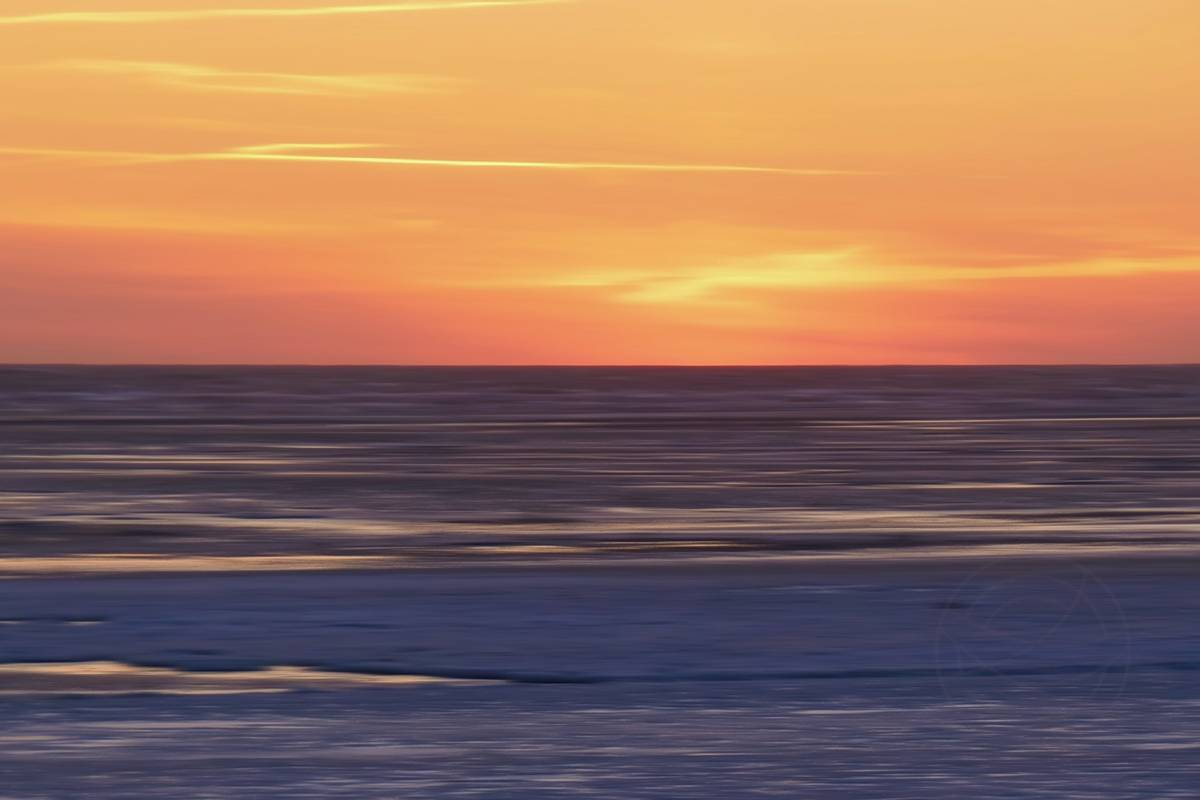 Nordic Sunset (5) - Abstract realistic fine art landscape photography