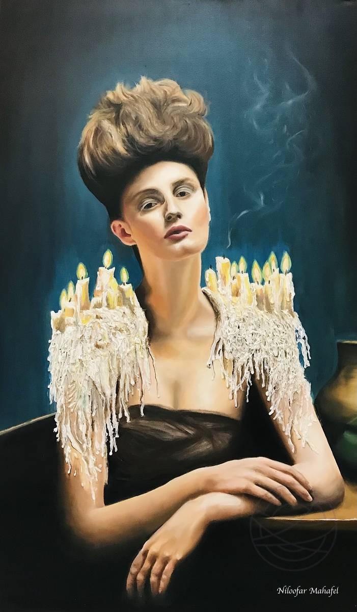Niloofar Mahafel - Candle