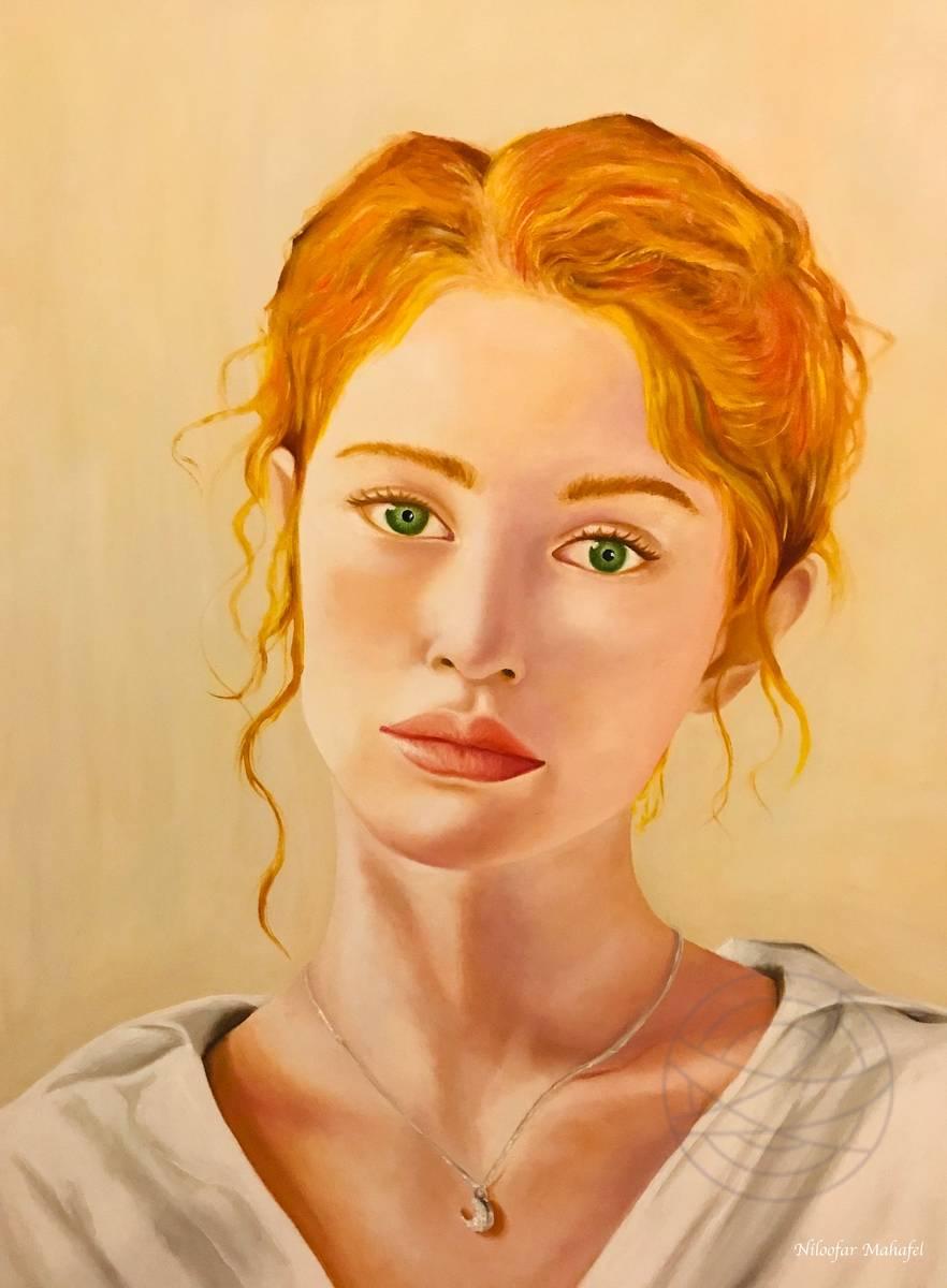 Niloofar Mahafel - Orange Hair