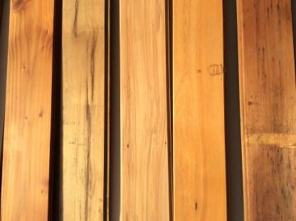 Native timber TG&V