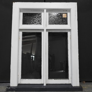 Bungalow Wooden Casement Window With Toplights
