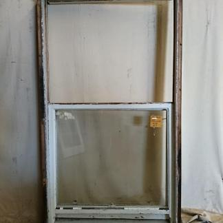 wooden double-hung window