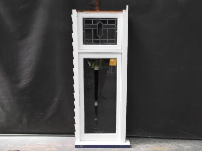 Bungalow Wooden Casement Window With Leadlight