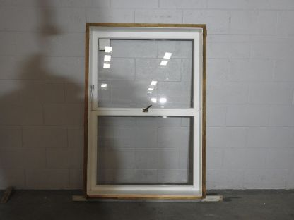 wooden awning portrait window