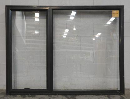 Karaka green aluminium awning window