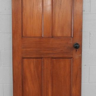 Wooden villa door