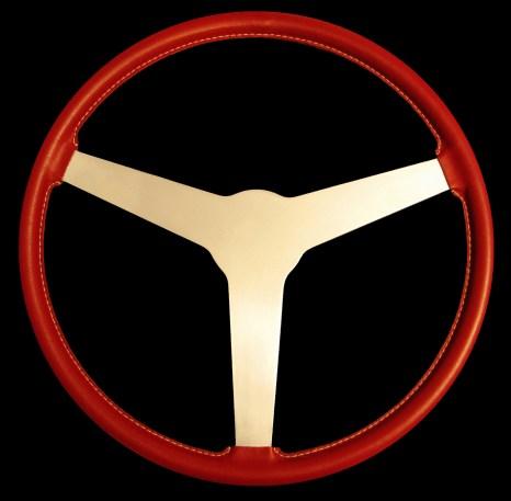 "Lotus XI Steering Wheel, Lotus 11 Steering Wheel, Lotus Eleven Steering Wheel 15"""