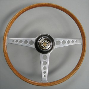 Original Jaguar E type Series 1 Steering wheel