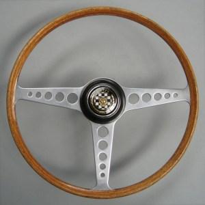 Original Jaguar E type Series 1 Steering wheel