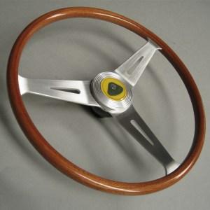 Springall Lotus Seven 7 Wood-rim steering wheel