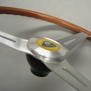 Lotus Seven 7 Wood-rim steering wheel - Springall OEM