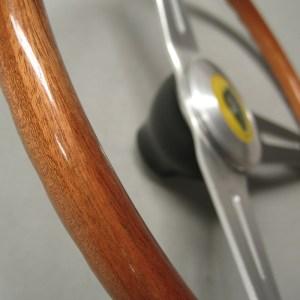 Lotus Seven 7 S1 S2 Wooden steering wheel
