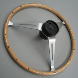 Lotus Cortina Mk1 Studded thin-rim steering wheel