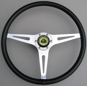Lotus Ford Cortina Mk1 1964 BJH 417B Jim Clark BSCC - Springall Steering Wheel