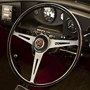 Springall Mini Mk1 Mk2 Cooper S Steering Wheel