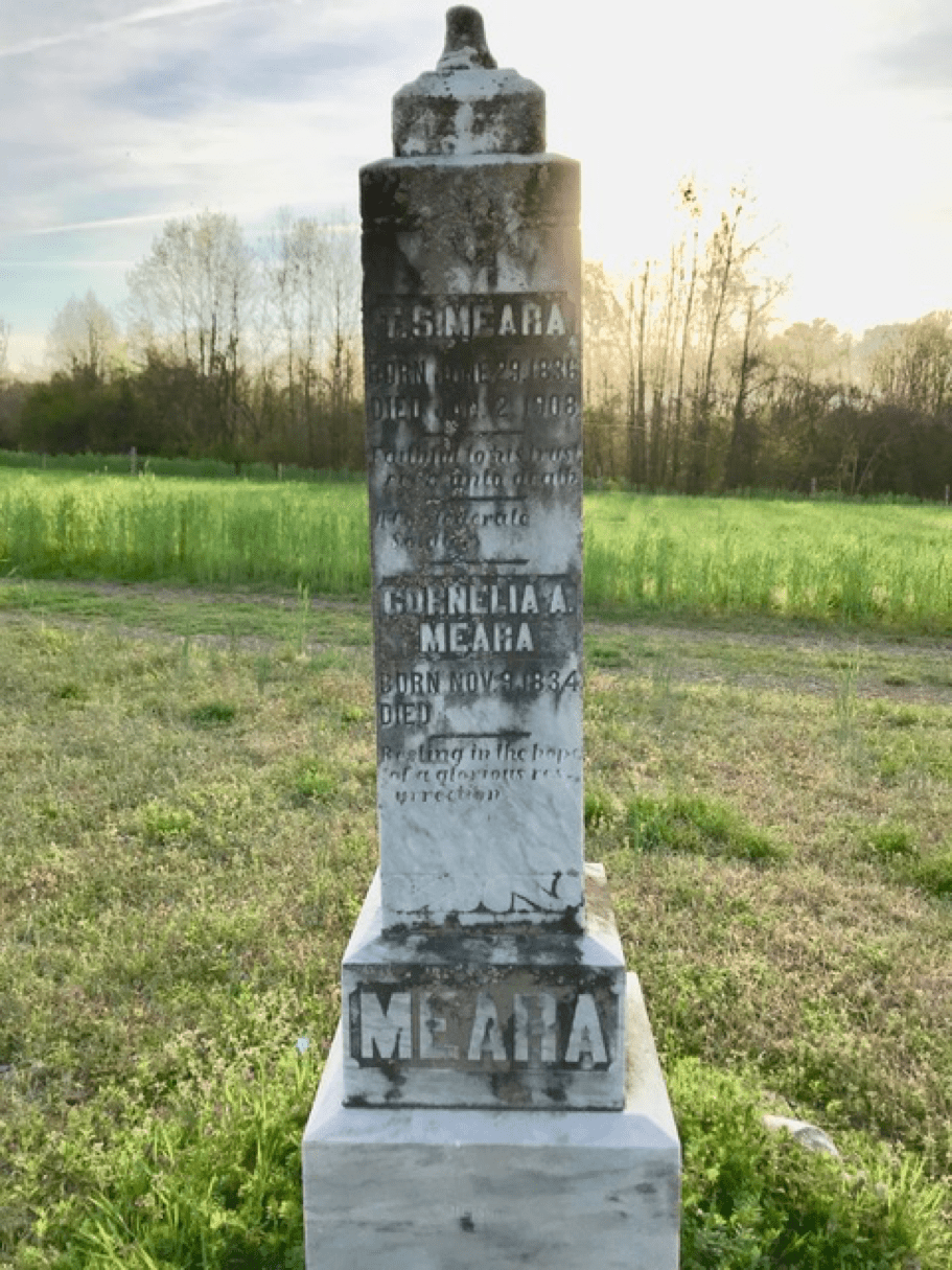 Meara monument in Plot 2