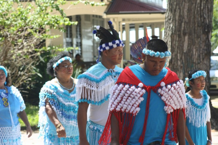 caifesta XI - suriname indigenous people at fort zeelandia (6)
