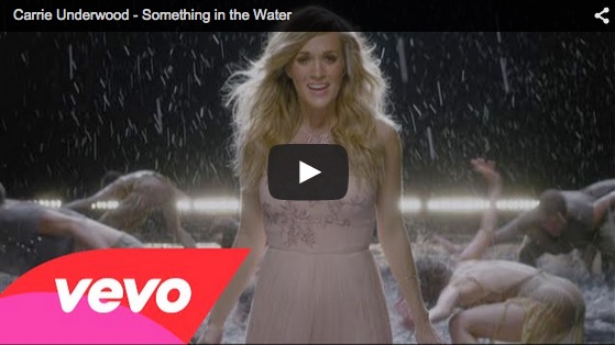 "MTV of the Day: Carrie Underwood's ""Something in the Water"""