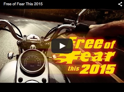 Video of the Day: Free of Fear this 2015 by Joey Bonifacio