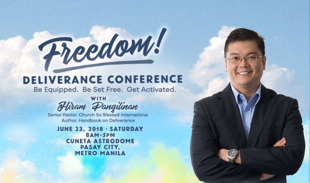 Freedom! Deliverance Conference on June 23
