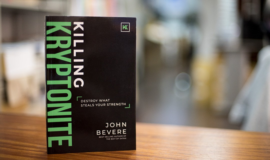 BOOK RAFFLE: Killing Kryptonite, Destroy What Steals Your Strength