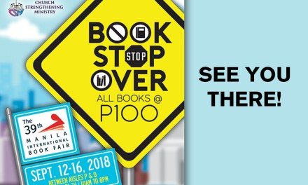 Come Over to CSM's Book Stopover at the 39th Manila International Book Fair!