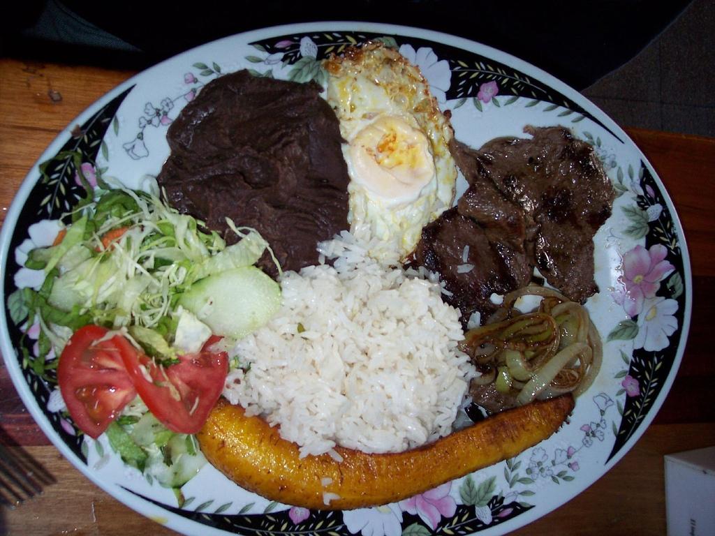 Casado Costa Rica Food