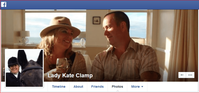 Lady Kate Clamp Facebook