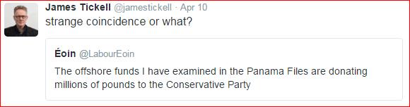 James Tickell tweet