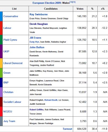 Euro election 2009