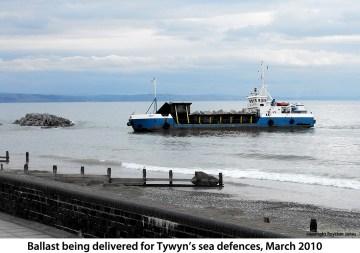 Tywyn sea defences