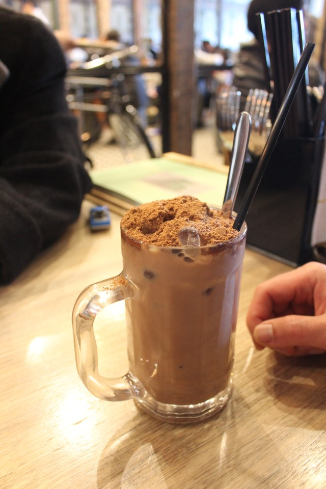 Milo drink Makan Place Malaysian restaurant Melbourne