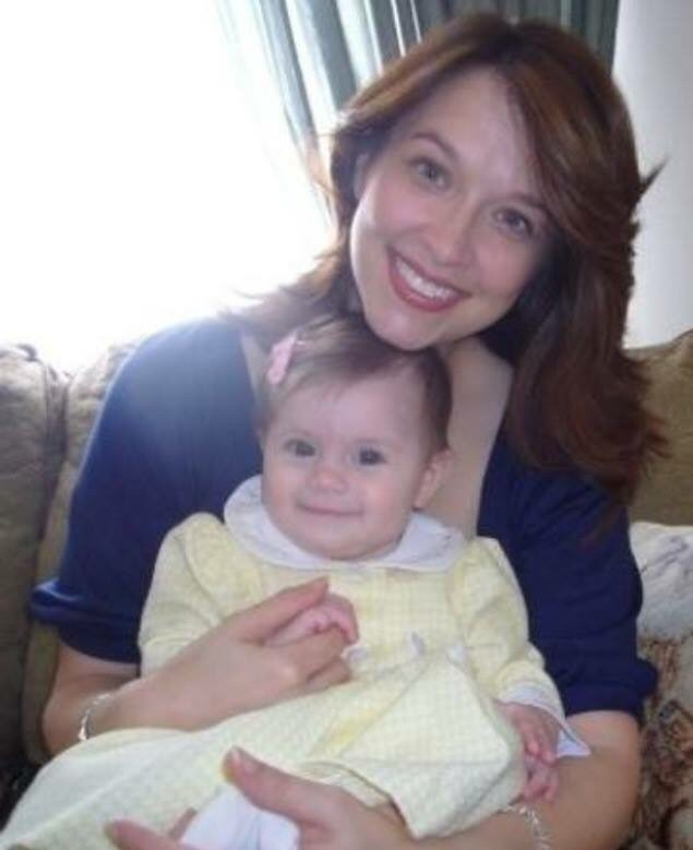 My first Mother's Day with Theresa - 2007 💜