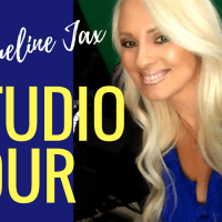 Step inside my recording and podcasting studio
