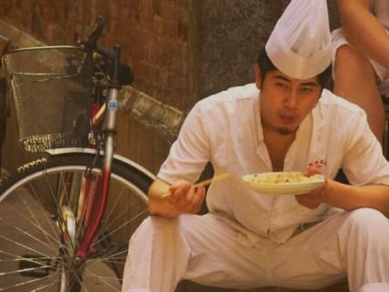Bike and Rice Break