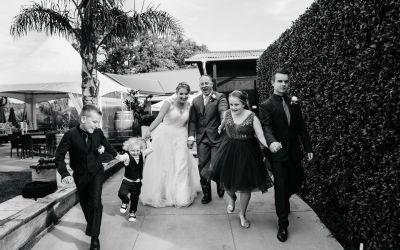 Blended Family Wedding Bliss