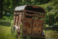 Old Horse Trailer