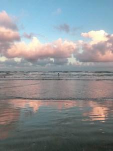 Texas Gulf Coast Sunset