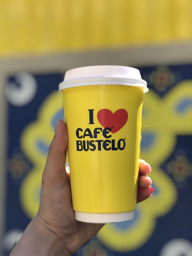 Pop-up coffee shop Café Bustelo in Houston