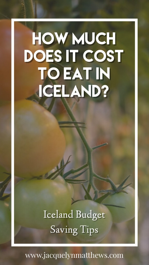 Wondering how much it costs for two people to eat in Iceland? Click here to see an example budget for four days!