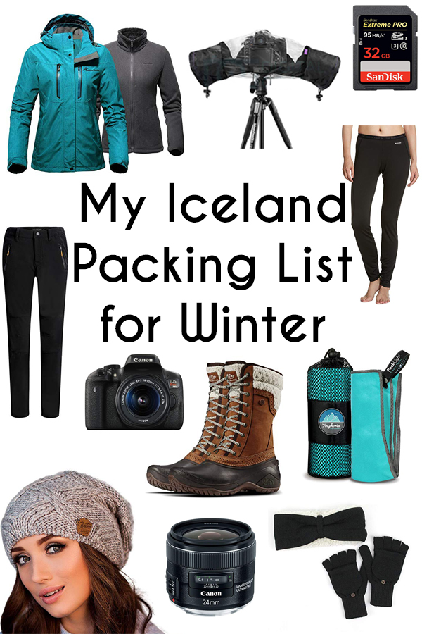Are you planning a trip to Iceland sometime between November and March? Click here for an example of an Iceland packing list for winter!