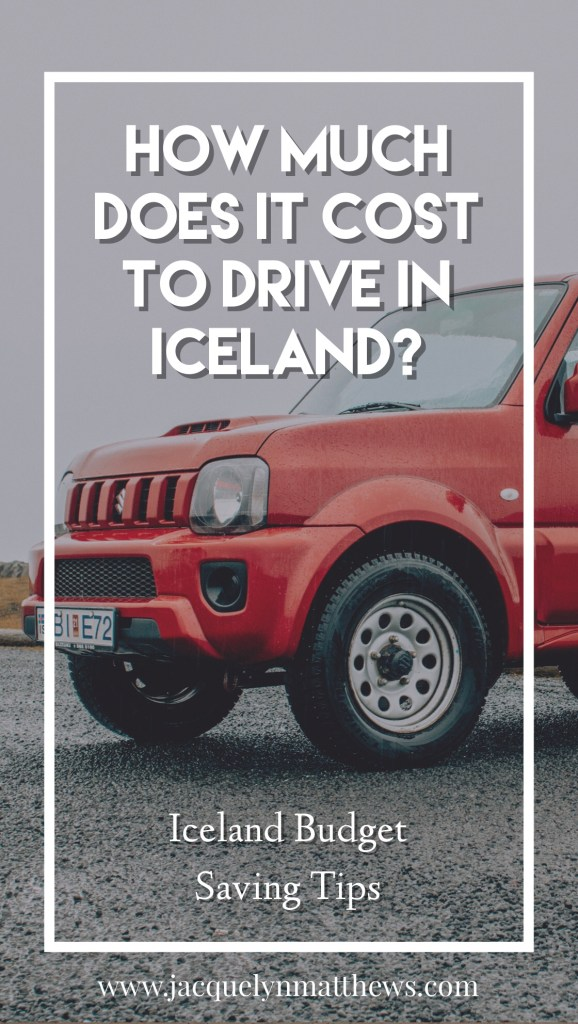 Wondering how much it will cost to drive in Iceland? Click here to see an example budget for four days!