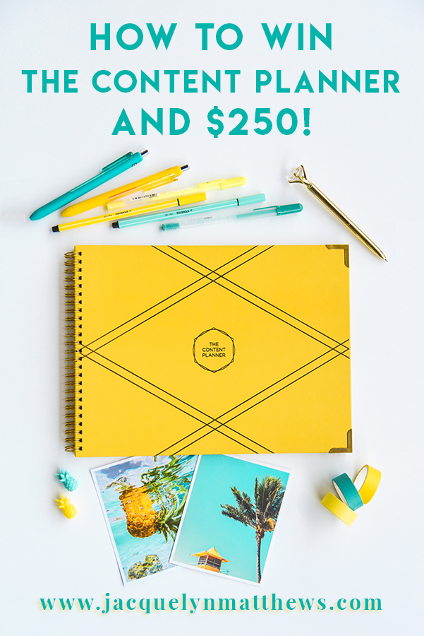 The best physical planner for bloggers, social media influencers and small business owners! Click here to see how I got one for free!