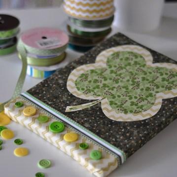 No Sew Fabric Wall Art St. Patricks Day, Jacquelynne Steves