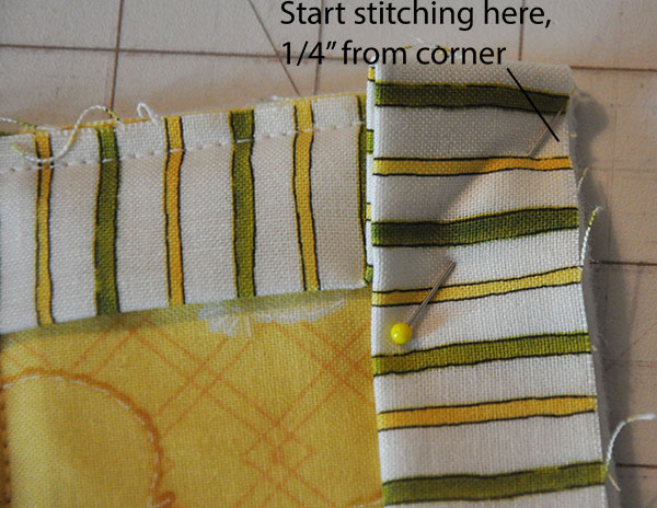 quilted potholder tutorial binding